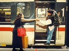 As <I>DDLJ</I> Clocks 25 Years, Twitter Boards The Train Of Raj And Simran's Memories