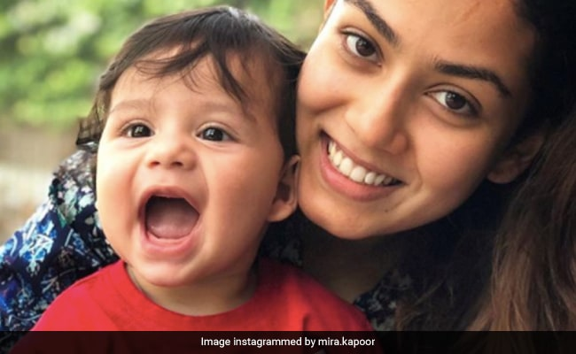 Mira Rajput's ROFL Reaction After Getting A Gift From