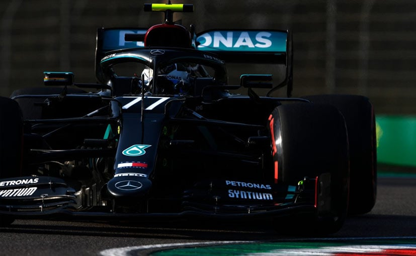 Bottas will be hoping to convert this pole into a win something he's not managed this season