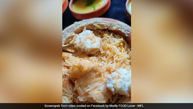 Viral: Biryani With <i>'Rosogolla'</i> - Another Bizarre Food Experiment Rattles Internet