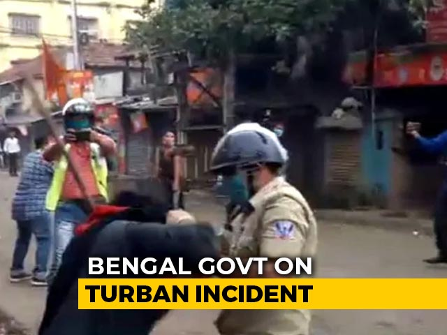 """Video : """"Communal Colour"""": Bengal After Cops Accused Of Pulling Sikh Man's Turban"""