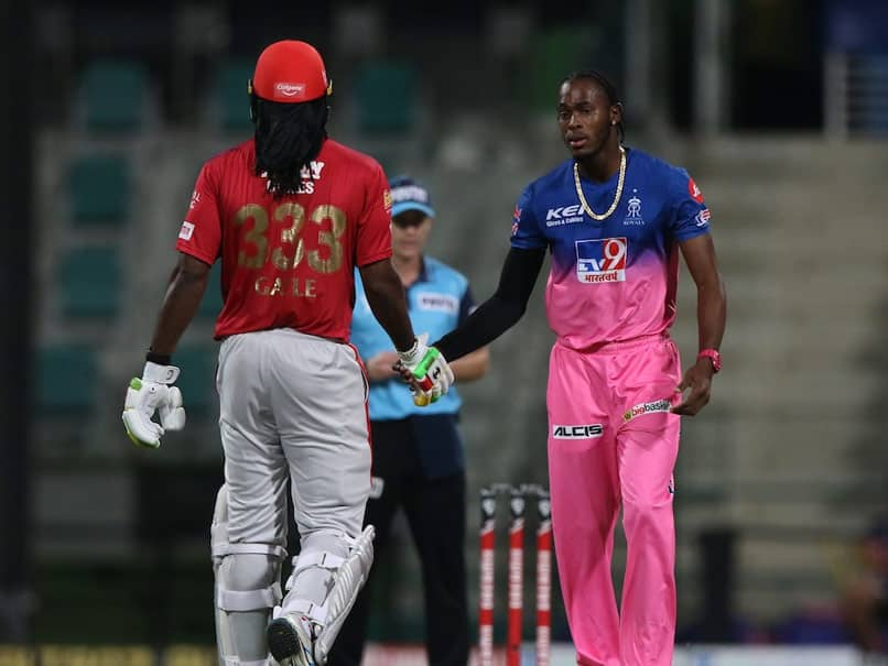 """""""Still The Boss"""": Jofra Archer Salutes Chris Gayle After Whirlwind Knock In Abu Dhabi"""
