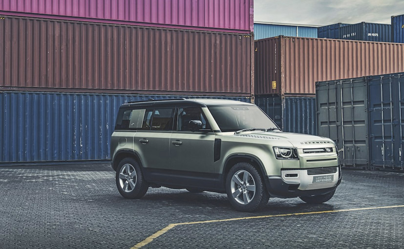 The 2020 Land Rover Defender 110 comes to India as a completely built unit.