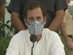 """Shameful Truth"": Rahul Gandhi Slams Yogi Adityanath Over Hathras Case"