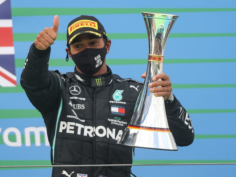 Eifel GP: Lewis Hamilton Equals Michael Schumachers Record Of 91 Wins