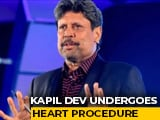 "Video : Cricket Legend Kapil Dev Admitted To Hospital In Delhi Over ""Heart Issues"""