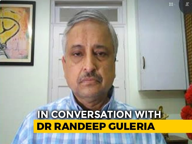 Video : From Social Bubbles to Sero Surverys, Dr Randeep Guleria Answers