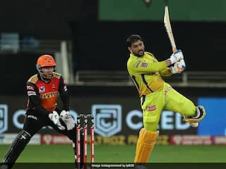 """IPL 2020, CSK vs SRH: MS Dhoni Says He Wasnt Able To Time The Ball And Tried To """"Hit Too Hard"""""""