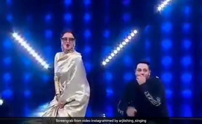 रेखा ने काला चश्मा पहन बादशाह के Mercy गाने पर दिखाया जबरदस्त डांस, Video हुआ वायरल