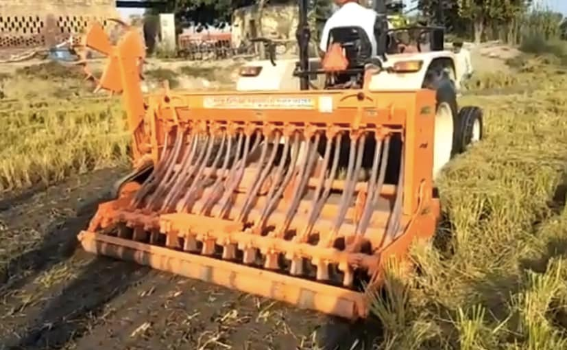 Anand Mahindra has termed the use of Super seeder to curb pollution levels as immediate priority.