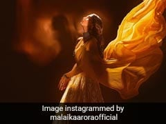 Malaika Arora Looks Brighter Than The Sun In A Yellow Lehenga