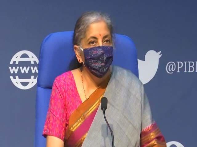 Video : Finance Minister Nirmala Sitharaman On Proposals To Stimulate Demand