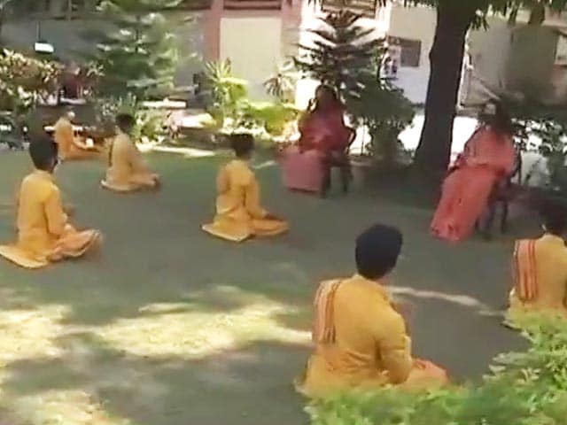 Video : Rishikesh's 80-Year-Old Ashram Leads The Way In Implementing COVID-19 Protocols