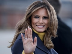 "First Lady Melania Trump Says ""Violence Will Never Be Justified"" In Her Farewell Message"