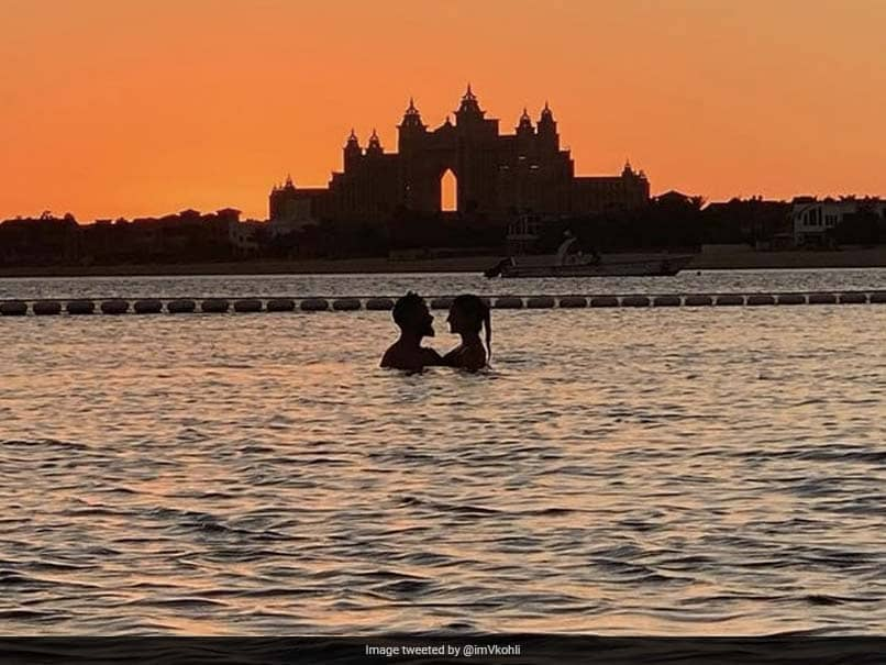 Why Fans Are Going Gaga Over Virat Kohli And Anushka Sharmas Sunset Pic In Pool