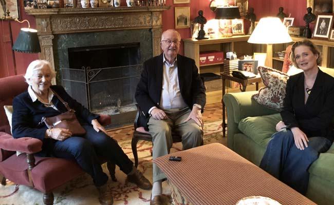 Belgium's Once Hidden Princess Meets Royal Father