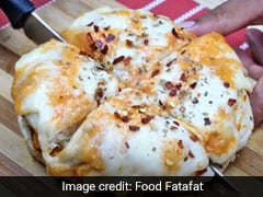 Watch: Chicken Shawarma <i>Kulcha</i> Recipe - This Loaded Pizza Has Everything You Want In An Indulgent Meal