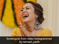 नेहा कक्कड़ ने रोहनप्रीत के साथ हल्दी और संगीत सेरेमनी में यूं झूमकर किया डांस, खूब धमाल मचा रहा है Video