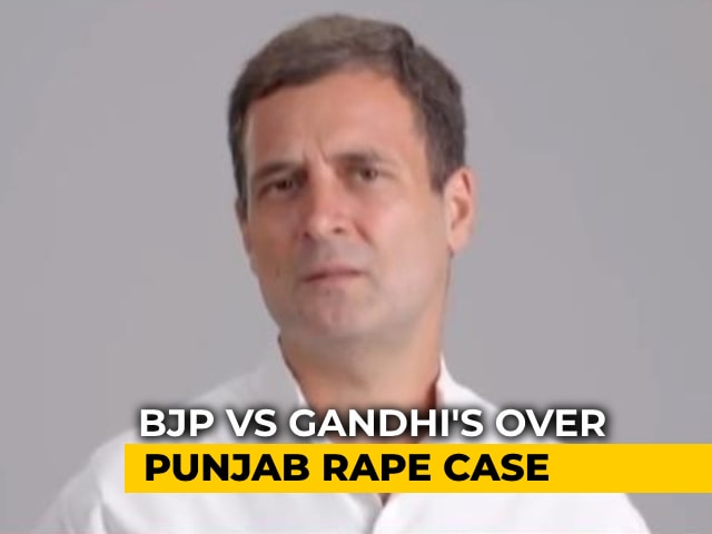 """Video : """"Unlike UP…"""": Rahul Gandhi's Counter To BJP's """"Gandhis Don't Care"""" Jibe"""