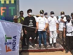 ITBP का Fit India Walkathon, DG बोले- 'चीन-भारत सीमा पर तैनात जवान फिट, उनका मनोबल ऊंचा'