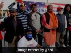 Indian-American Trump Supporters Pray For Him Outside Hospital