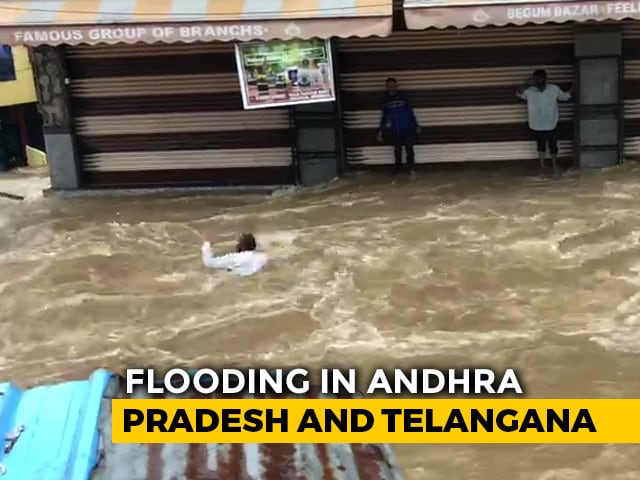 Video : What Caused Severe Flooding In Hyderabad?