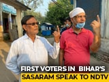 "Video : ""Need A Young, Energetic Leader"": Early Voters In Bihar's Sasaram"