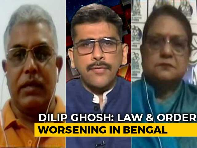 Video: Bengal Has Mafia Raj Like UP, Bihar: Dilip Ghosh