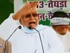 VIDEO, नीतीश कुमार ने क्यों कहा, 'अपने बाप से पूछो, अपनी माता से पूछो...'