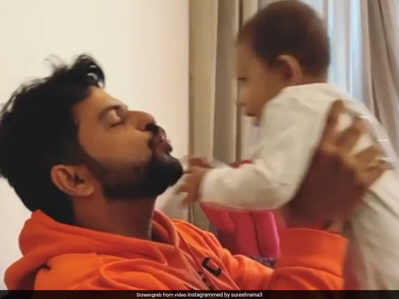 Suresh Raina Posts Adorable Video With His Morning Dose Of Love. Watch