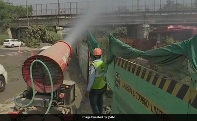 Anti-Smog Guns Deployed At Delhi Construction Sites To Control Pollution