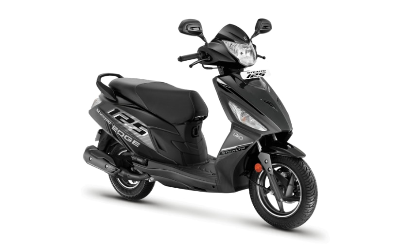 The Hero Maestro Edge 125 Stealth gets a new colour and body graphics