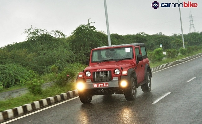 The company has stopped taking orders for the AX STD and AX variants of the Mahindra Thar