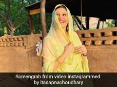 Sapna Choudhary ने दिया बेटे को जन्म, पति वीर साहू ने फेसबुक लाइव के जरिए किया खुलासा