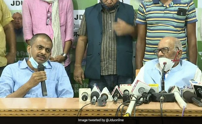 Raghuvansh Singh's Son Joins JD(U) Ahead Of Bihar Polls