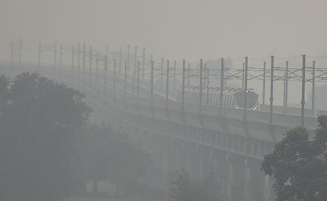 NCR के शहरों की वायु गुणवत्ता सोमवार को खराब श्रेणी में रही