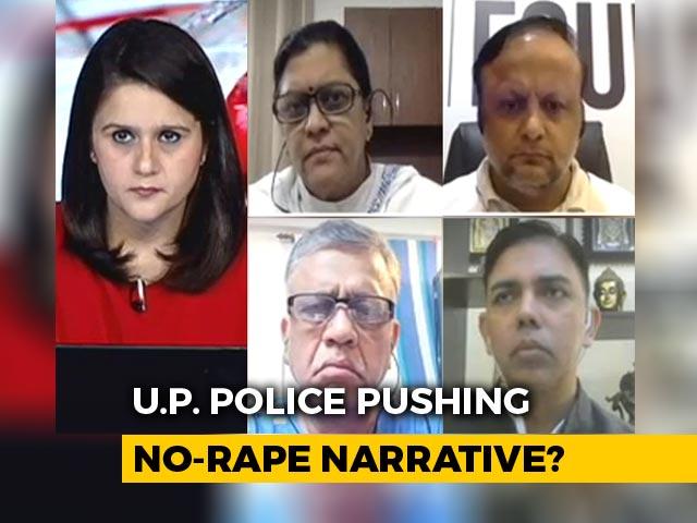 Video : Hathras Horror: UP Police Pushing No-Rape Narrative?