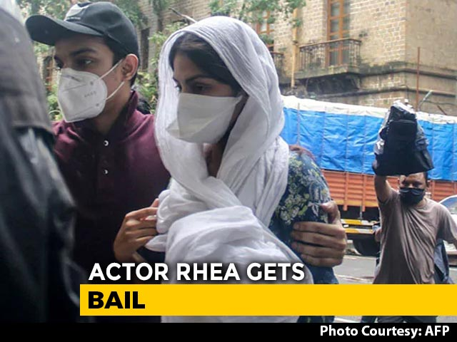 Video : 5 Bail Conditions For Rhea Chakraborty In Drugs Case