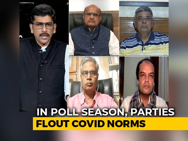 Video : Political Parties Continue To Flout Covid Rules Ahead Of Bihar Elections