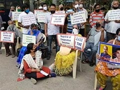 Depositors Of Crisis-Hit Banks Protest Again In Bengaluru