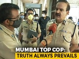 "Video : ""Truth Always Prevails"": Mumbai Top Cop On AIIMS Report On Sushant Rajput"