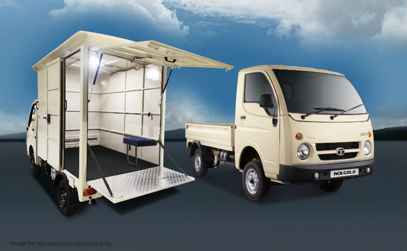 The customised Tata Ace Gold will be fully built and handed over to the Andhra Pradesh government
