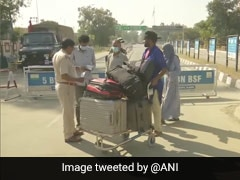 139 Indians Stranded In Pakistan Return Via Attari-Wagah Border