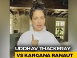 "Video : ""Uddhav Thackeray Called Me '<i>Namak Haraam</i>'"": Kangana Ranaut Hits Back"