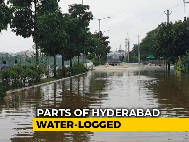 Video : Days After Devastating Downpour, Heavy Rain Hits Hyderabad Again