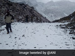 Sach Pass In Himachal Pradesh's Chamba Covered In Snow After Receiving Fresh Snowfall
