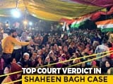 "Video : ""Public Places Can't Be Occupied Indefinitely"": Top Court On Shaheen Bagh"