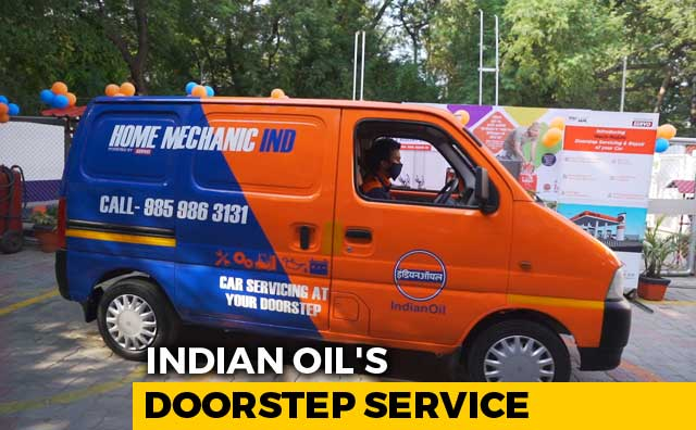 Video: Indian Oil Begins At Home Car Servicing With Home-Mechanic