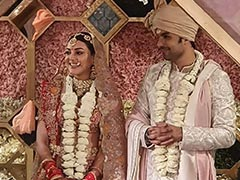 Kajal Aggarwal And Gautam Kitchlu Are Now Married. Pics From Their Fairytale Wedding