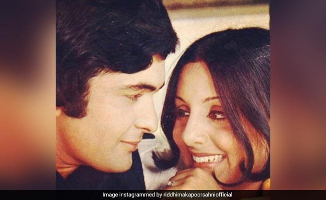 Rishi Kapoor And Wife Neetu In A Beautiful Memory, All Thanks To Daughter Riddhima